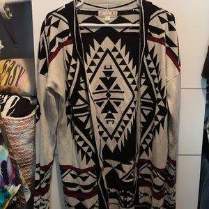 Sweaters - Brand new Aztec print sweater